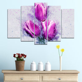 Flower, Plant, Blossom, Pink, Petal » Purple, Gray, Milky pink
