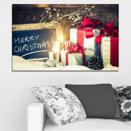 Подарък, Коледа, Празник » Черен, Сив, Бял, Бежов, Тъмно сив