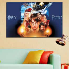 Children, Movies, Harry potter » Orange, Brown, Black, Beige, Dark grey