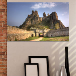 Landscape, Bulgaria, Landmark, Belogradchik » Brown, Gray, Dark grey