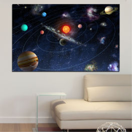 Space, Galaxy, Planet » Brown, Black, Gray, Dark grey