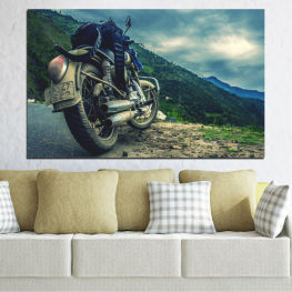 Motor, Sport, Road, Motorcycle, Motorbike, Action » Blue, Black, Gray, Beige, Dark grey