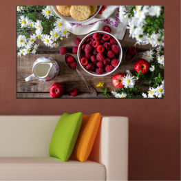 Summer, Fresh, Fruits, Cuisine, Nutrition, Food, Breakfast, Fruit, Dessert, Tasty, Berry, Healthy, Organic » Red, Brown, Black, Gray, Dark grey
