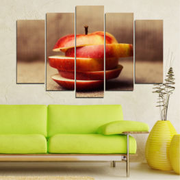 Fresh, Apples, Breakfast, Healthy, Food, Fruit » Red, Brown, Gray, Beige