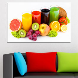 Freshness, Drink, Breakfast, Delicious, Beverage, Fruit, Healthy, Organic » Yellow, Orange, White, Beige