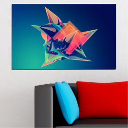 Abstraction, 3d, Modern, Light, Color, Design, Shape, Decorative, Glow » Pink, Purple, Blue, Turquoise, Black, Dark grey