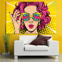 Drawing, Art, Graphic, Cartoon, Design, Colors » Pink, Yellow, Black, Beige