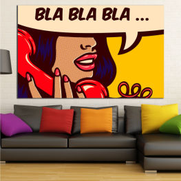 Art, Graphic, Cartoon, Design » Red, Yellow, Beige