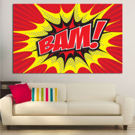 Light, Graphic, Cartoon, Design, Poster, Explosion, Dynamic, Ray » Red, Yellow, Black, Gray, White