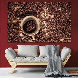 Coffee, Beverage, Organic, Cappuccino, Espresso, Caffeine, Taste, Flavor, Aroma » Brown, Black, Beige, Dark grey