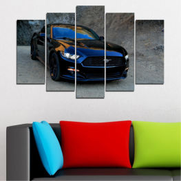 Vehicle, Car, Road » Blue, Black, Gray, Dark grey