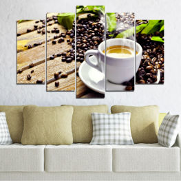 Coffee, Culinary, Drink » Brown, Black, Gray, Beige