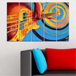 Декоративни панели и картини от канава - от 5 части №0338 Рисунка 2-ра Форма