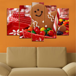 Coockie, Christmas, Holiday » Red, Orange, Brown