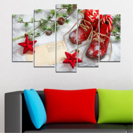 Decoration, Christmas, Holiday » Brown, Gray, White, Beige