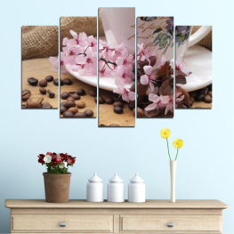 Flowers, Culinary, Coffee » Brown, Gray, Dark grey