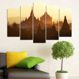 City, Castle, Temple » Brown, Black, White, Beige