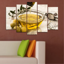 Culinary, Olives, Olive oil » Brown, Gray, White, Beige