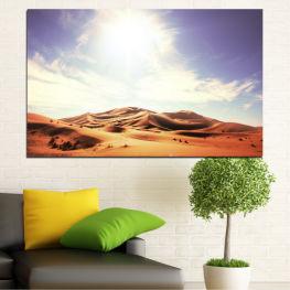 Слънце, Пясък, Пустиня » Оранжев, Кафяв, Сив, Бял