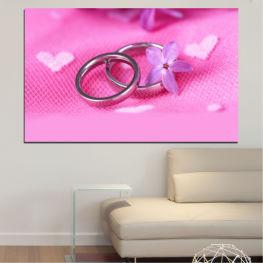 Γάμος, Σύμβολο, Δαχτυλίδι » Κόκκινος, Ροζ, Μωβ, Άσπρο, Γαλακτώδες ροζ