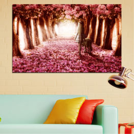 Flowers, Nature, Forest » Red, Orange, Black, White